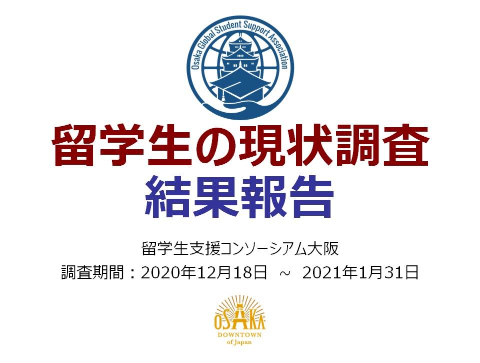 留学生の現状調査2021年 結果報告