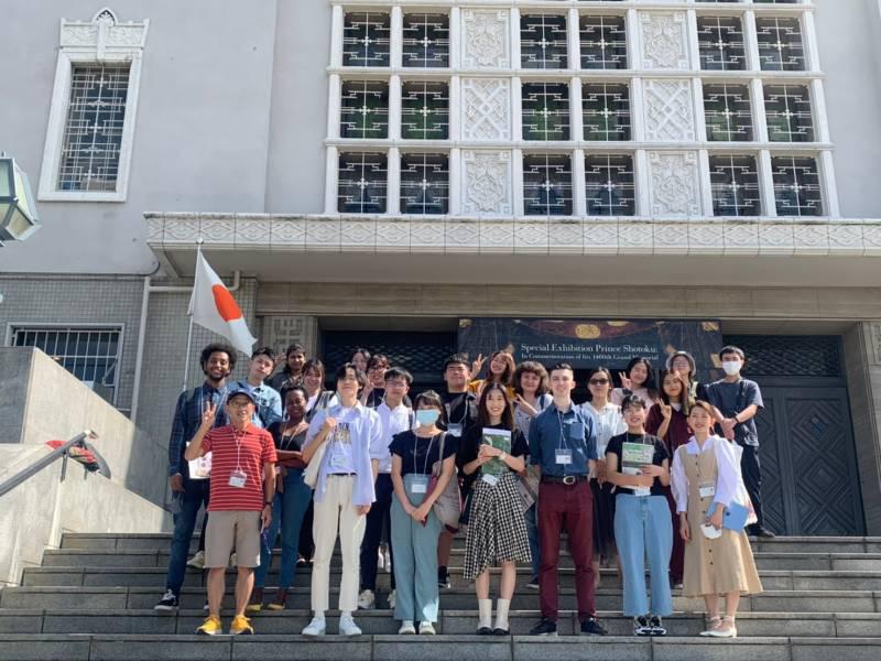 色々な国の留学生と第1回レクリエーションに出かけました!